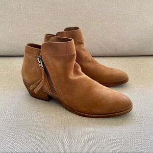 Sam Edelman Petty Booties Suede Ankle Boots
